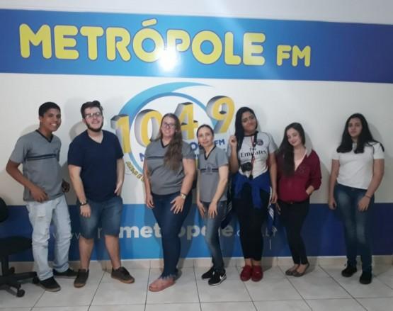 Visitas dos alunos da Escola Dom Bosco