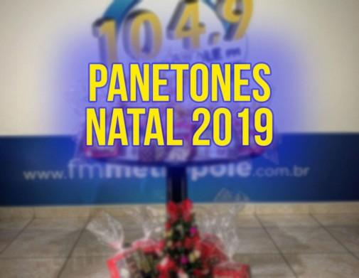PANETONES NATAL 2019