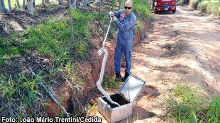 Bombeiros de Tupã resgataram Ouriço-Cacheiro e Jibóia