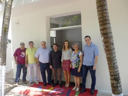 PAI Nosso Lar inaugura refeitório para funcionários e recebe doação da UniFAI