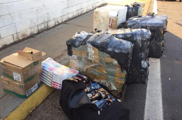 Carga de produtos do Paraguai é apreendida em Presidente Prudente