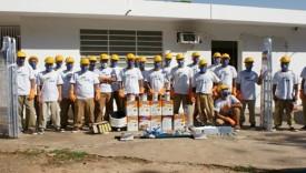 Reeducandos do semiaberto de Pacaembu finalizam melhorias no PAI Nosso Lar de Adamantina