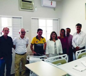 Parceria entre Unimed e Santa Casa de Adamantina resulta em seis novos e modernos quartos no hospital