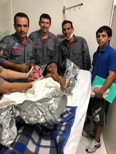 Mulher dá à luz em área rural de Tupã com ajuda do Corpo de Bombeiros