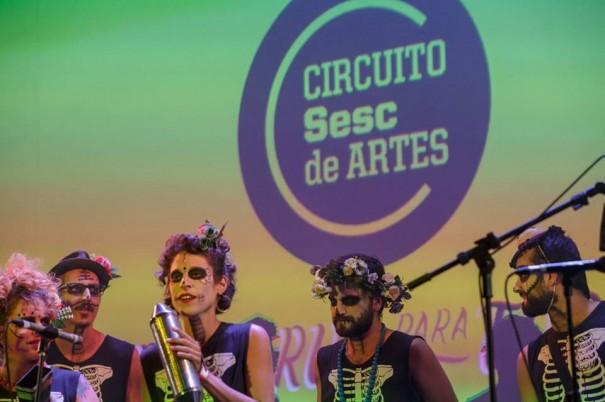 Circuito Sesc de Artes acontece em Osvaldo Cruz neste sábado na Praça da Matriz