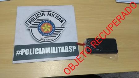 Polícia Militar de Tupi paulista localiza autor e recupera objeto furtado