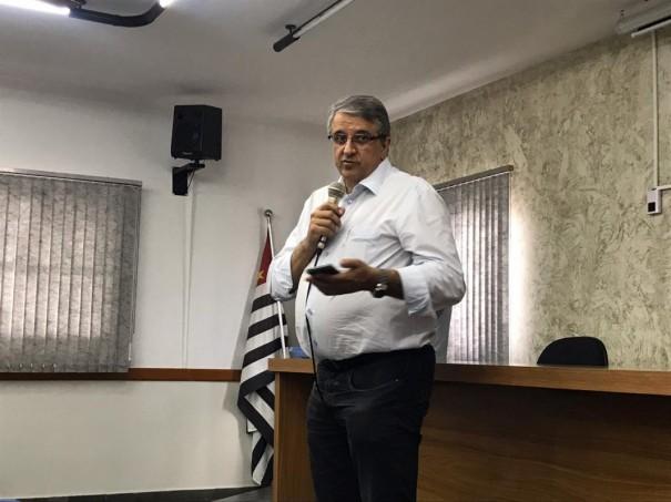 Deputados Reinaldo Alguz e Enrico Misasi visitaram Osvaldo Cruz para falar sobre a renovação da concessão ferroviária da Malha Paulista