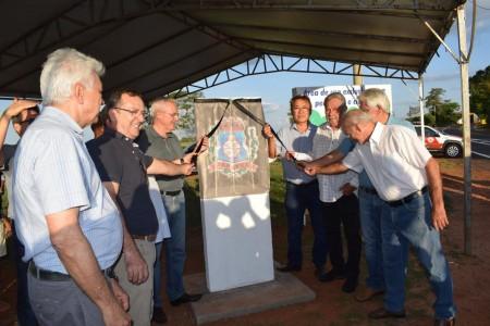 Inaugurada Obras de Recuperação da PRP-020 Prefeito José Morales Agudo e pavimentação da PRP-138