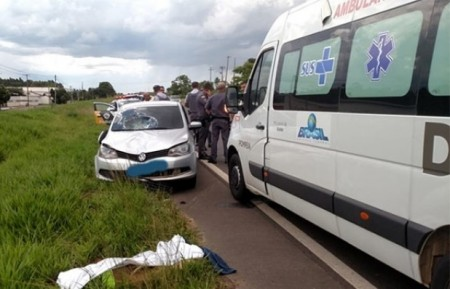 Homem de 52 anos morre atropelado na SP-294, em Pompéia