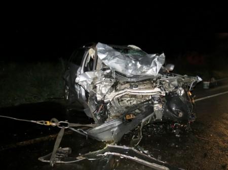 Grave acidente envolve quatro veículos e mata três pessoas na SP-425 em Parapuã