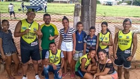 Atletas de Salmourão são destaque no Festival de Atletismo de Tupã