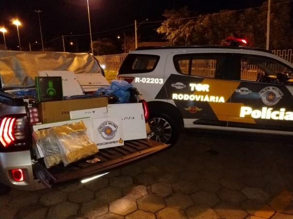 Polícia Rodoviária registra ocorrência de descaminho na SP-421