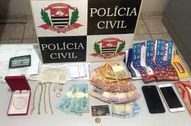 Polícia Civil prende por tráfico de drogas casal que ostentava vida de luxo em bairro da periferia de Presidente Epitácio