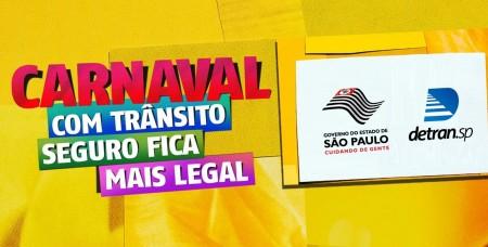 Governo de São Paulo anuncia campanha de conscientização no trânsito durante o Carnaval