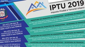 Carnês do IPTU de Adamantina começaram e ser entregues