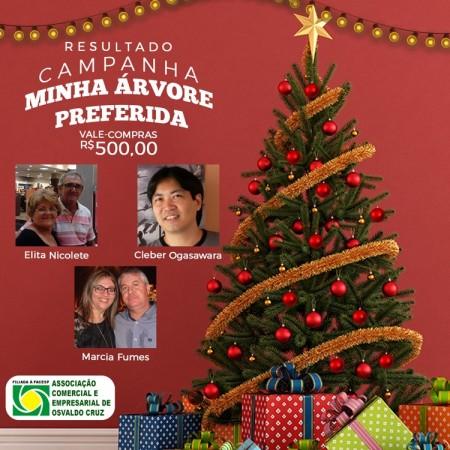 Vencedores do 'Minha Árvore de Natal Preferida' receberão prêmios nesta quinta