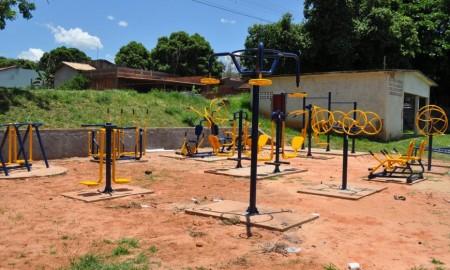 Vila Freitas, Jardim Brasil e Jardim das Acácias ganham academias ao ar livre