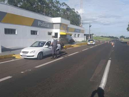 Polícia Rodoviária registrou 13 acidentes de trânsito no feriado durante a Operação Ano Novo