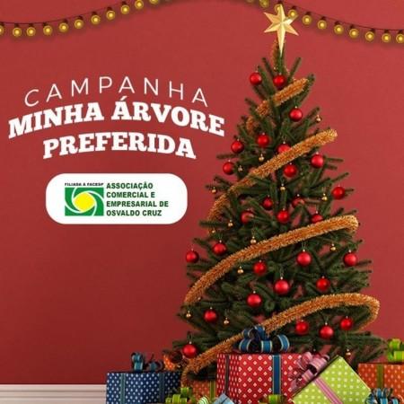 Concurso Minha Árvore de Natal Preferida da ACEOC está chegando ao final