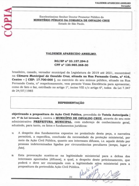 Ministério Público de OC pode interditar banheiros públicos da Praça da Matriz