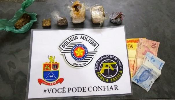 Mãe e filho são presos por tráfico em Junqueirópolis