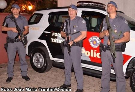 Força Tática da PM de Tupã retira das ruas procurado pela justiça