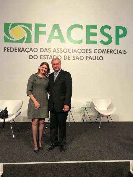 ACEOC participa da cerimônia de posse da presidência da FACESP