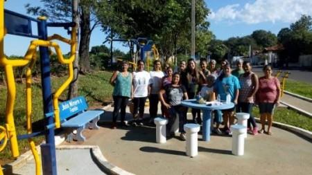Prefeitura de Sagres implanta Academia no Bairro Placa 28 e oferece programa de Educação Física aos moradores