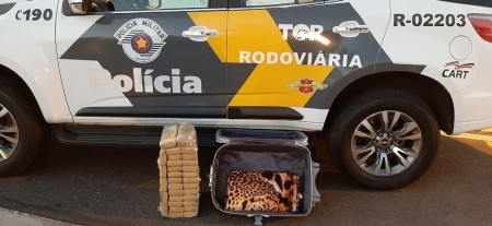 Adolescente de 17 anos é apreendido com 30 kg de maconha na Raposo Tavares