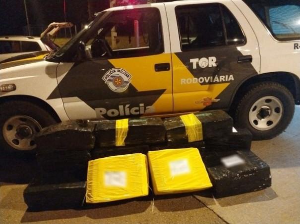 Contratado para transportar 260kg de maconha por R$ 7 mil, casal acaba preso em Presidente Venceslau