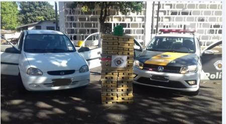 Homem é preso pela Polícia Rodoviária após ser flagrado com mais de 228 quilos de maconha