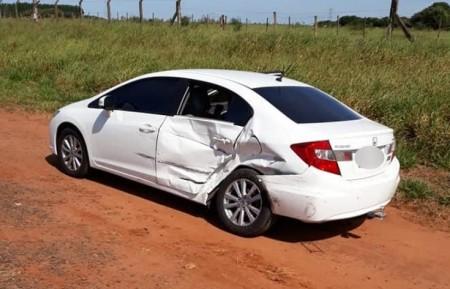 Quatro carros e um caminhão se envolvem em acidente na rodovia Bastos - Iacri