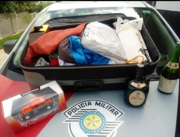 Polícia Militar de OC prende indivíduo por furto