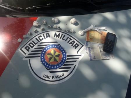 Polícia Militar de OC prende traficante no bairro Mário Couto