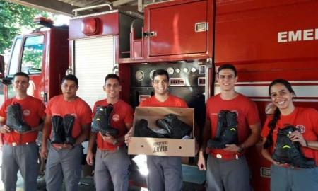 Prefeitura de Adamantina adquire 24 pares de botas multifuncionais para o Corpo de Bombeiros