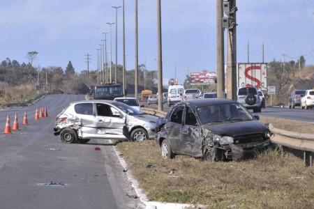 Acidentes no trânsito deixaram mais de 1,6 milhão feridos em 10 anos