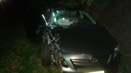 Dois carros colidem em vicinal entre Tupã e Herculândia