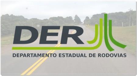 DER libera tráfego pela rodovia Miguel Gantus (SP-383) em Herculândia