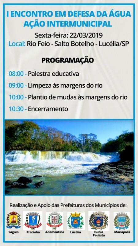 Secretaria Municipal de Meio Ambiente de Sagres realiza ciclo de atividade em comemoração ao Dia da Água