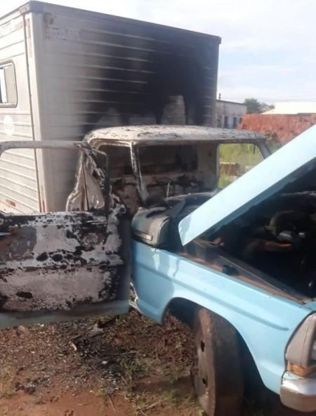 Ocorrência de fogo em veículos foi registrada em Rinópolis
