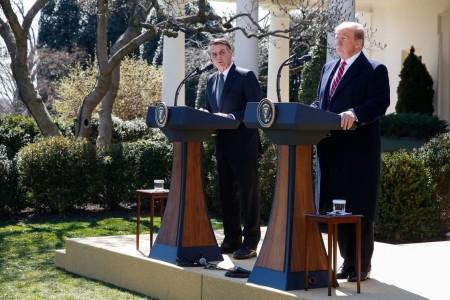 Para Bolsonaro, encontro com Trump abre 'novas frentes de cooperação'
