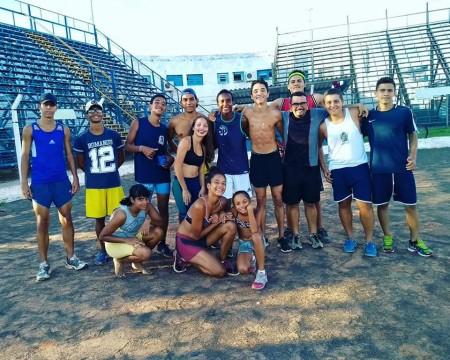 Equipe de Atletismo de OC participa da Primeira Etapa da Liga Regional