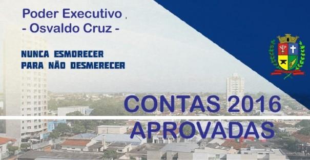 Mazucato tem Contas 2016 aprovadas pela Câmara Municipal