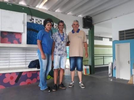 Aluno de Sagres vence etapa de Damas e modalidade será implantada na Escola da Família do município