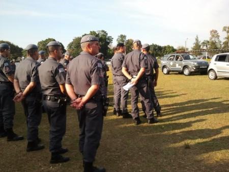 Polícia Militar realiza treinamento do BAEP na região