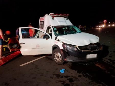 Morre a segunda vítima do acidente que envolveu uma ambulância em Rinópolis