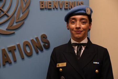 Brasileira vence Prêmio de Defensora Militar do Gênero da ONU