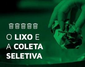 Secretaria de Meio Ambiente de Sagres alerta comerciantes sobre separação de lixo