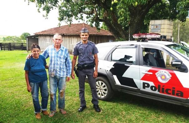 Polícia Militar desenvolve Projeto Manhã Rural com excelente aceitação em Mariápolis
