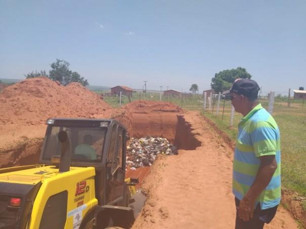 Prefeitura de Sagres dá início a operações do novo aterro Sanitário Municipal